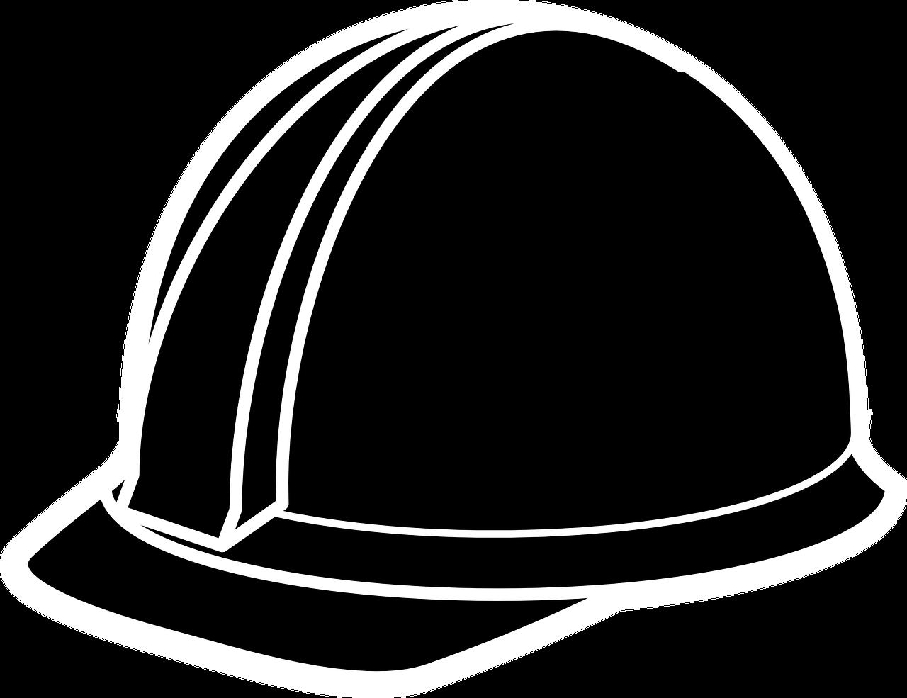 Hard-Hat Black Construction - Free vector graphic on Pixabay