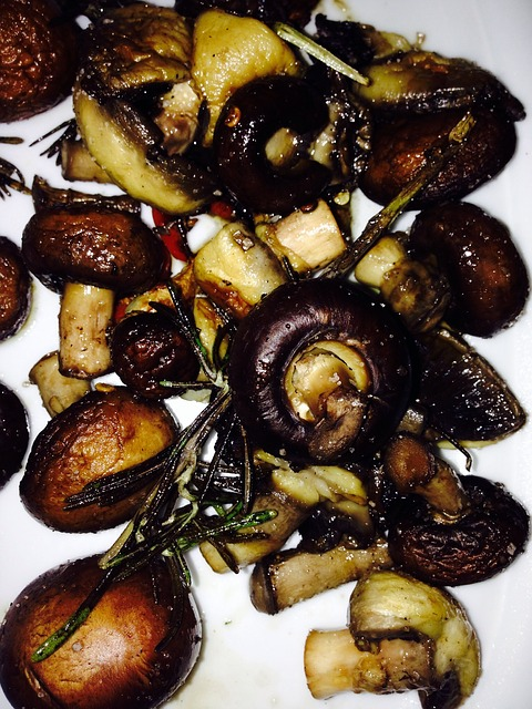 Жареные грибы хранятся
