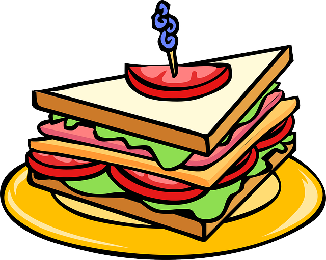 Free Vector Graphic: Club Sandwich, Triangle, Food