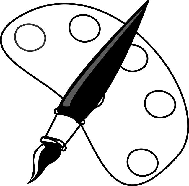 Farbpalette Pinsel Kunst · Kostenlose Vektorgrafik auf Pixabay