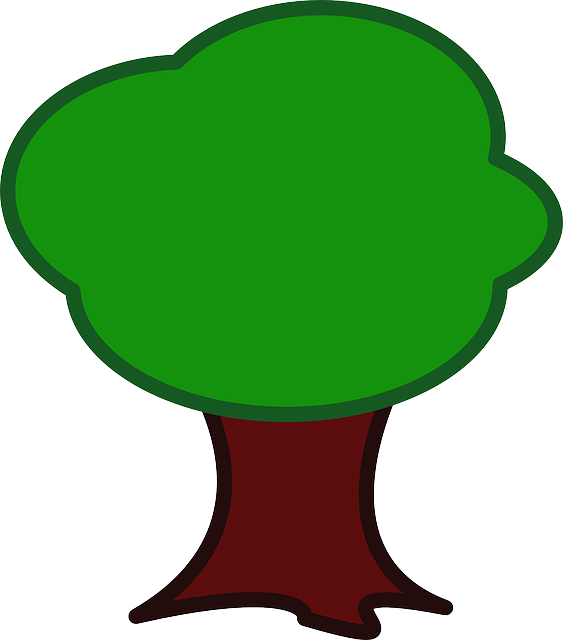 tree cartoon green  u00b7 free vector graphic on pixabay play doh clipart play doh clipart png