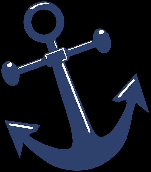 anker gl nzend symbol kostenlose vektorgrafik auf pixabay. Black Bedroom Furniture Sets. Home Design Ideas