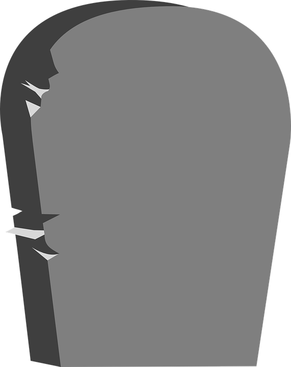 headstone tombstone cemetery free vector graphic on pixabay