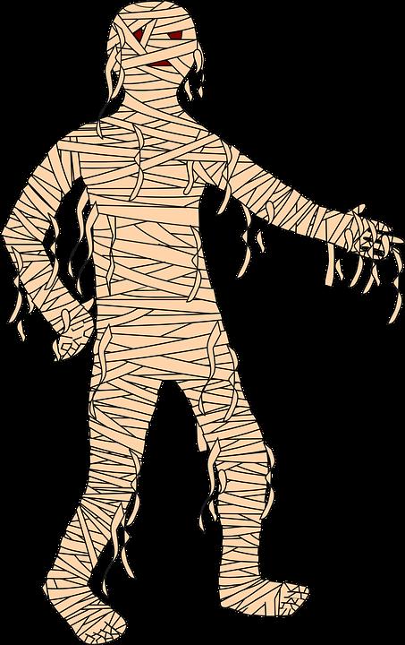 Momia Dibujos Animados Halloween · Gráficos vectoriales gratis en ...
