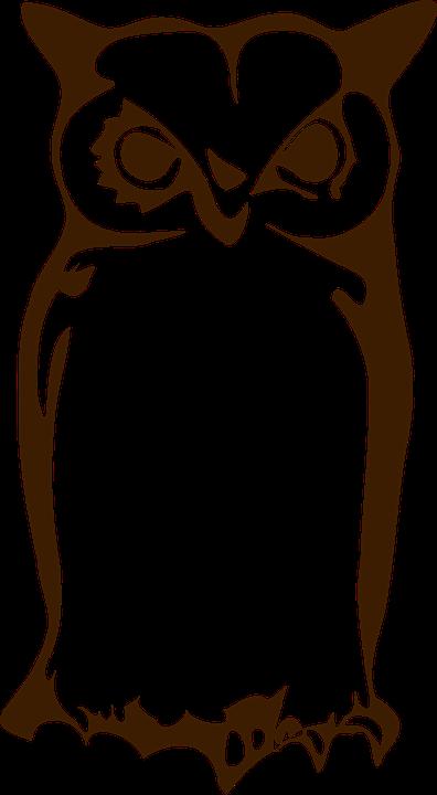 uil tekening geïsoleerde - gratis vectorafbeelding op pixabay