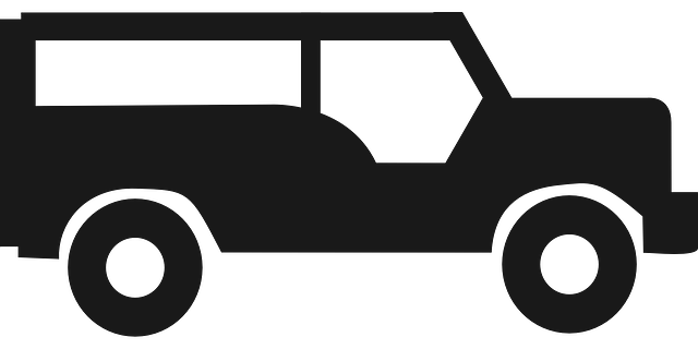 jeep silhouette symbol 183 free vector graphic on pixabay