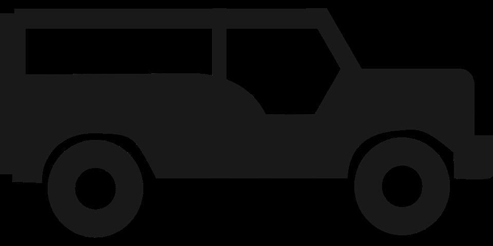 Jeep Silhouette Symbol Kostenlose Vektorgrafik Auf Pixabay