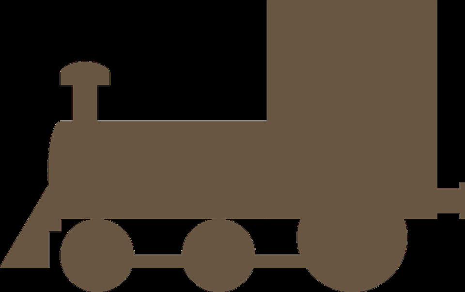 locomotive silhouette symbol free vector graphic on pixabay rh pixabay com train engine clipart train engine clipart images
