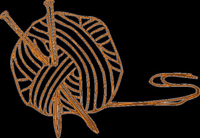wool ball yarn · free vector graphic on pixabay