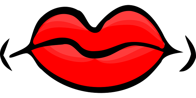 Lips Red Mouth  Free Vector Graphic On Pixabay-7415