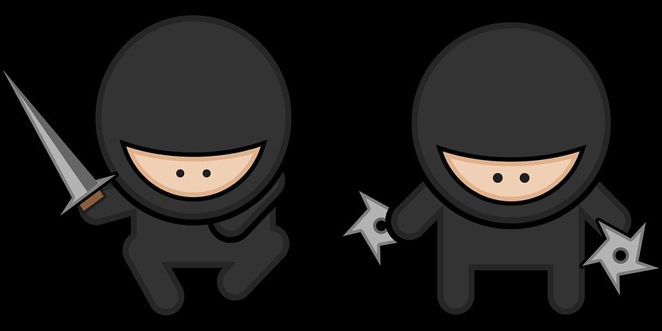 Ninja Kartun Karakter Gambar Vektor Gratis Di Pixabay