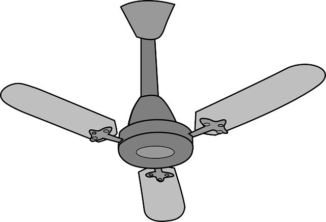 Free Vector Graphic Ceiling Fan Electrical Isolated