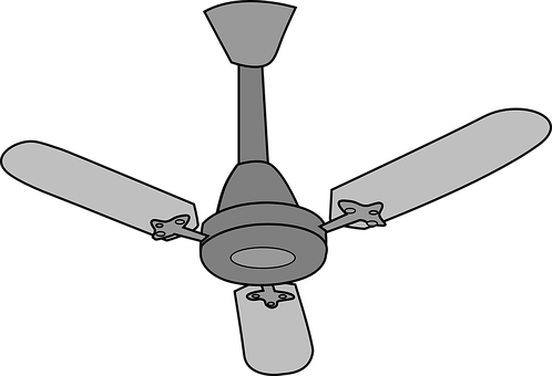 Ceiling-Fan Electrical Isolated Air Applia