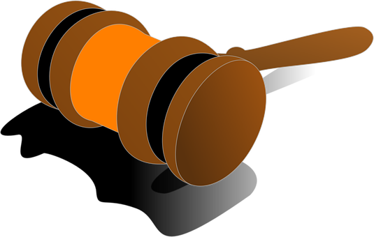Gavel, Justice, Wooden, Mallet