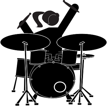 Girl, Drummer, Drum Set, Musician, Music