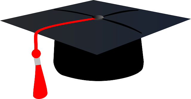 graduation cap hat  u00b7 free vector graphic on pixabay