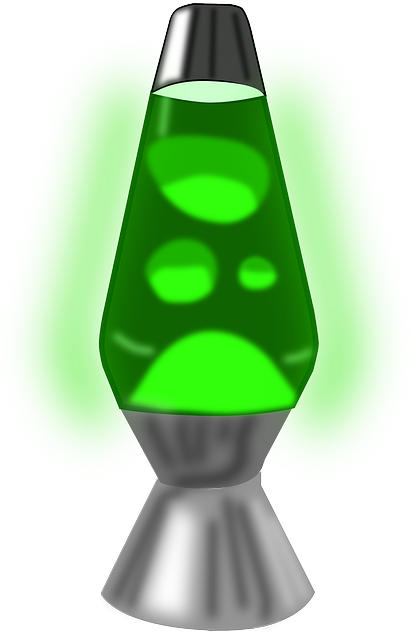 Free Vector Graphic Lava Lamp 1960s 1990s Green