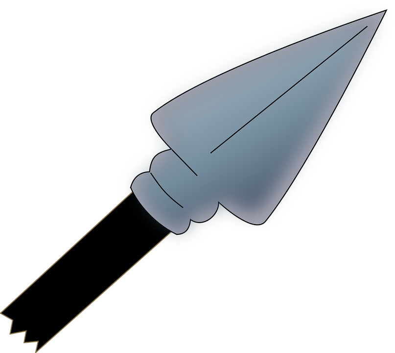 Spear Arrow Weapon - Free vector graphic on Pixabay