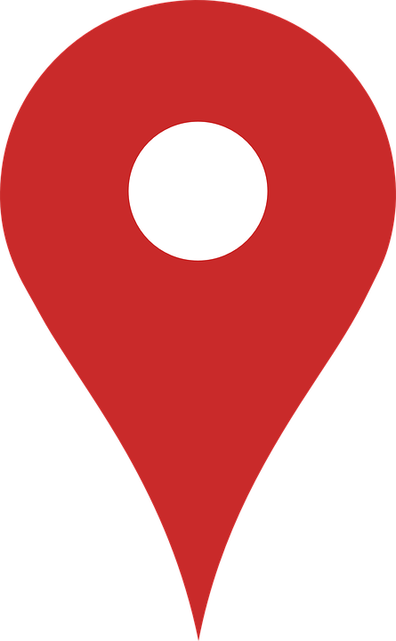 Google, Map, Marker, Red, Peg