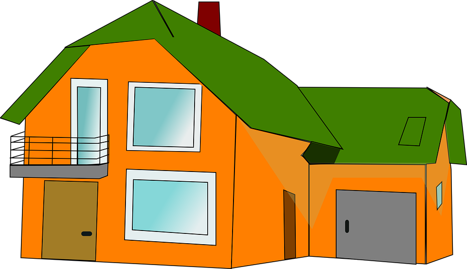 Free vector graphic house dwelling balcony home free for Balcony clipart