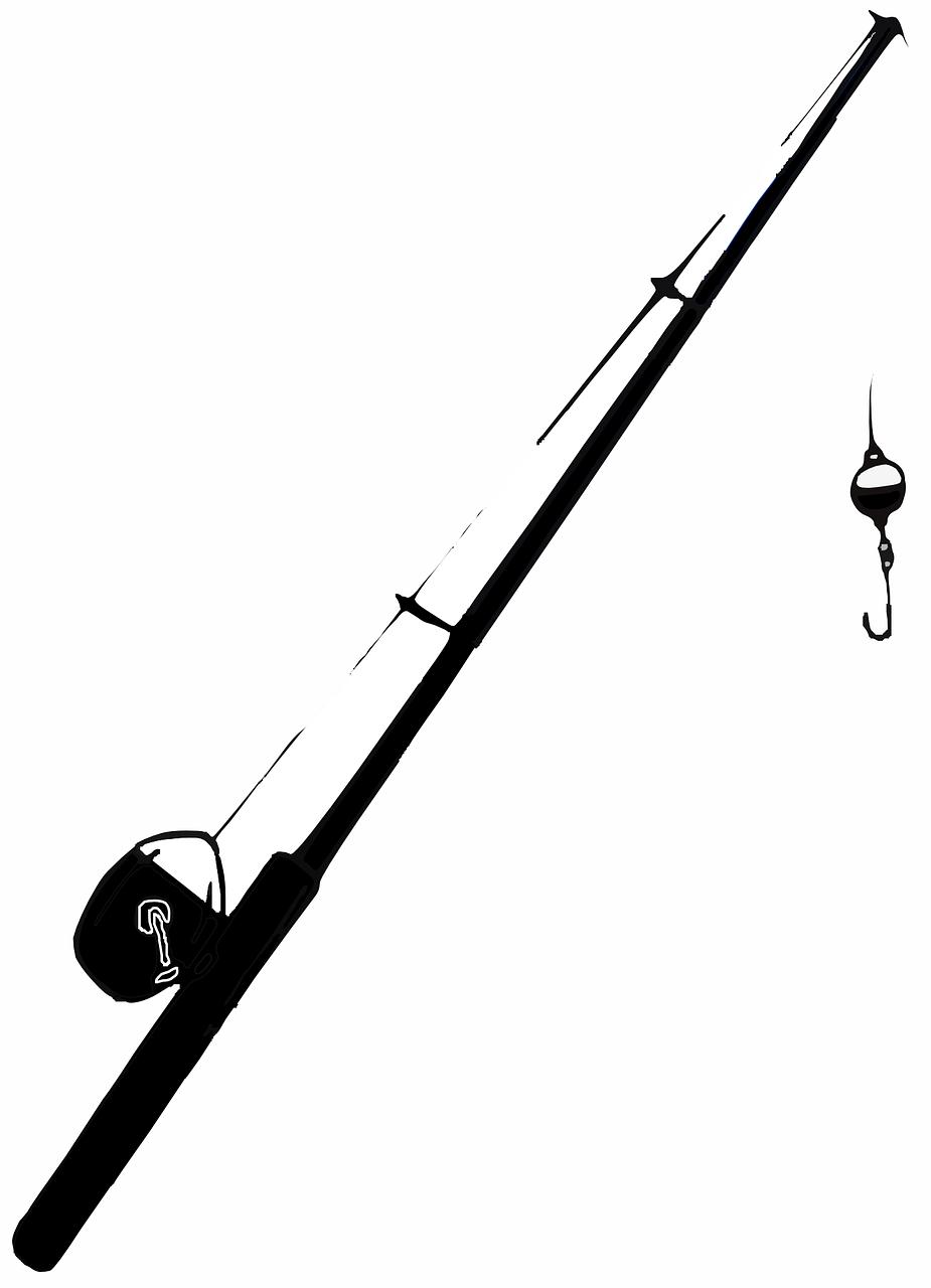 Fishing Rod Pole Free Vector Graphic On Pixabay