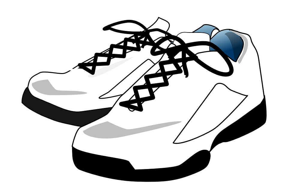 Sneakers Shoes White Tennis · Free vector graphic on Pixabay