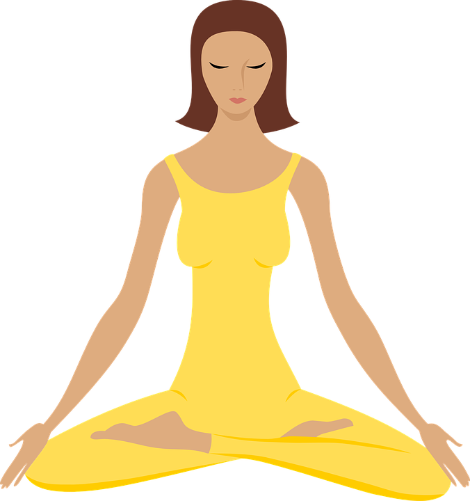 Yoga Meditate Meditation Exercise Healthy Health