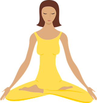 Yoga Meditate Meditation Exercise Healthy