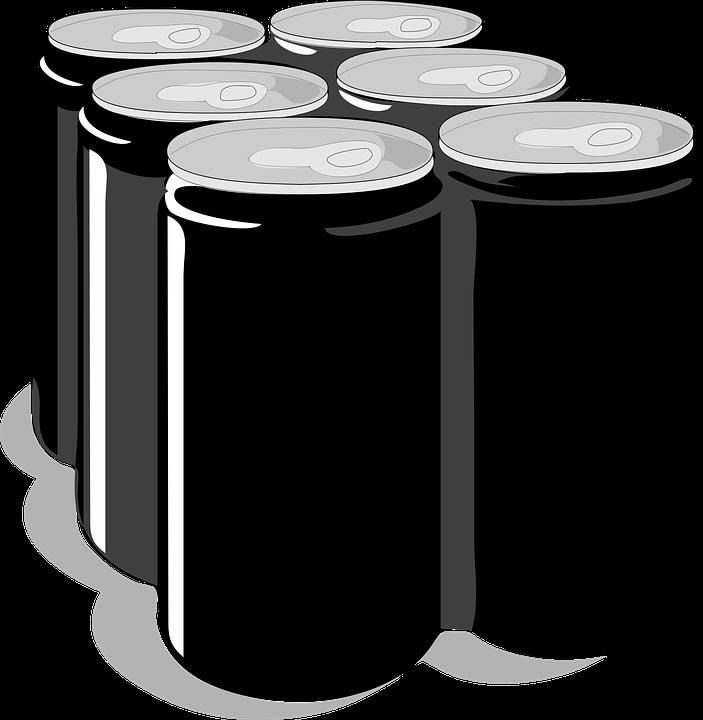 Blank Beer Can Png Image vectorielle grat...