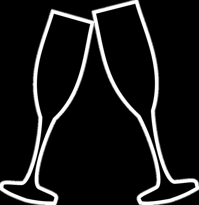 Image vectorielle gratuite Flûtes Champagnes  Image