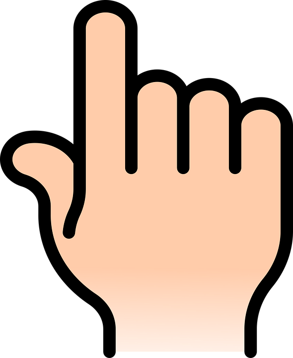 hand right point free vector graphic on pixabay rh pixabay com