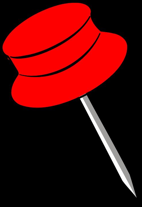 broches pin rouge punaise images vectorielles gratuites sur pixabay. Black Bedroom Furniture Sets. Home Design Ideas