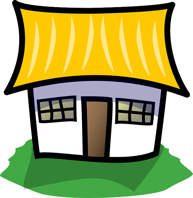 Thatched House Home 183 Free Vector Graphic On Pixabay
