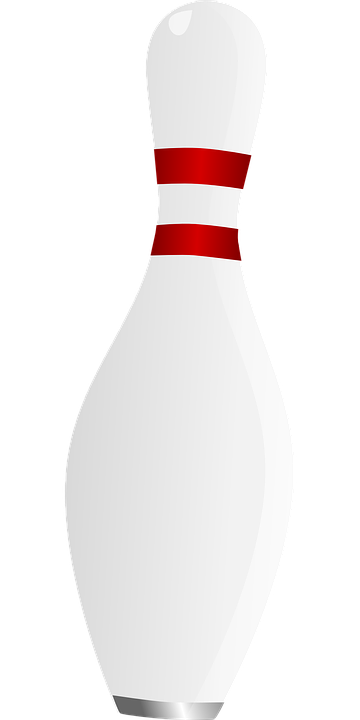 Bowling Pin Sport Free Vector Graphic On Pixabay