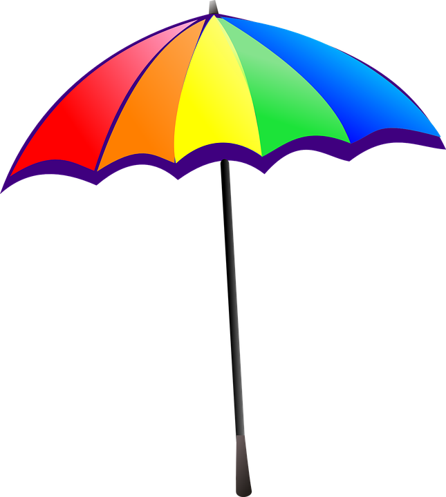 free vector graphic umbrella rainbow colorful free image on pixabay 310049. Black Bedroom Furniture Sets. Home Design Ideas