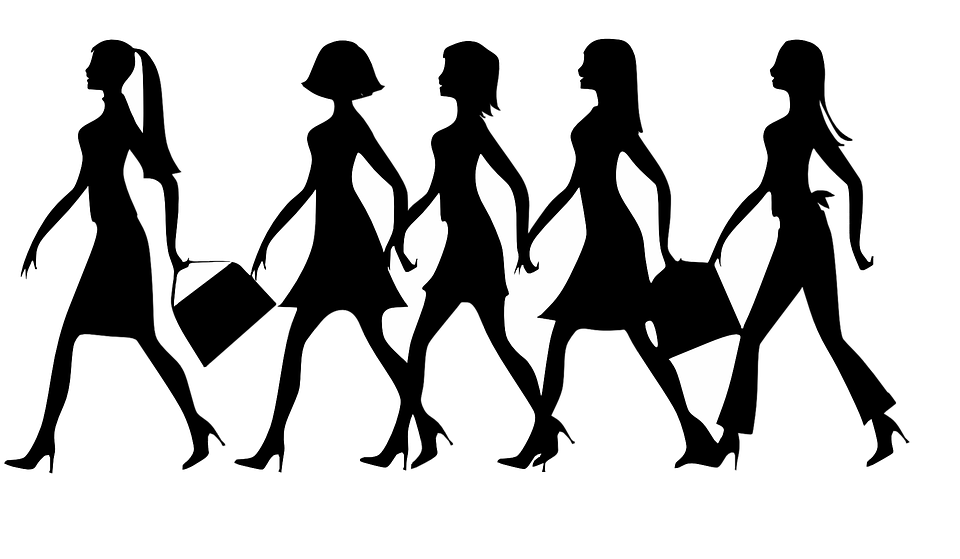 6aab127fd2 Women Ladies Females - Free vector graphic on Pixabay