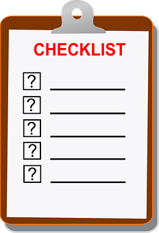 checklist clip board blank to do