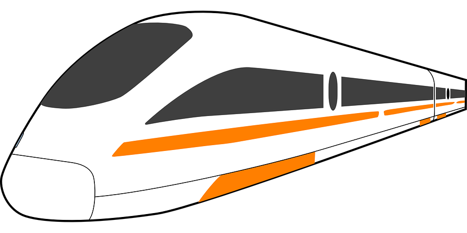 high speed train free vector graphic on pixabay