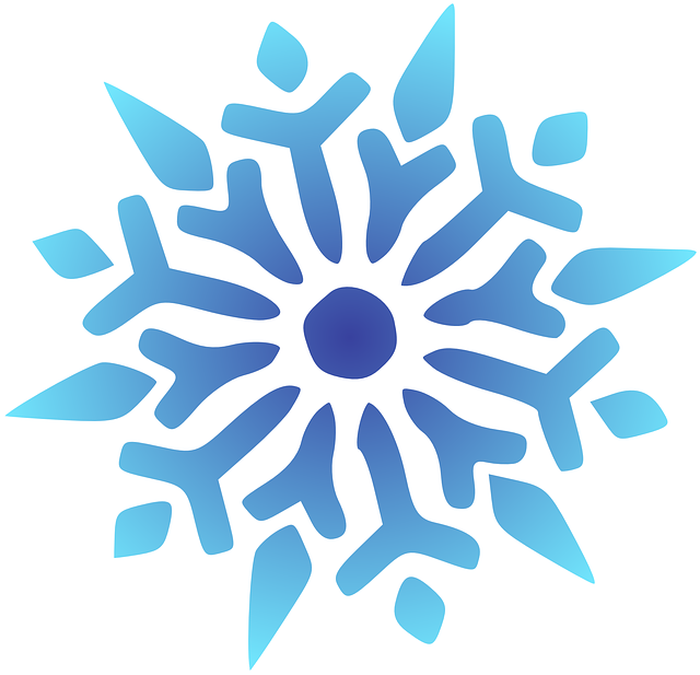 Snowflake Blue · Free vector graphic on Pixabay