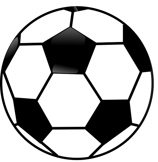 Soccer Ball Black And White Free Vector Graphic On Pixabay