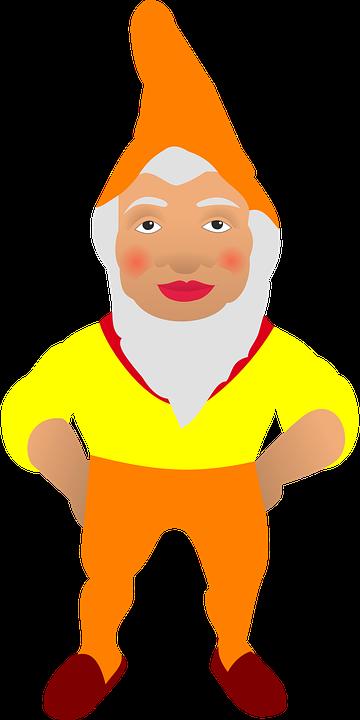 gnome anão duende desenhos gráfico vetorial grátis no pixabay