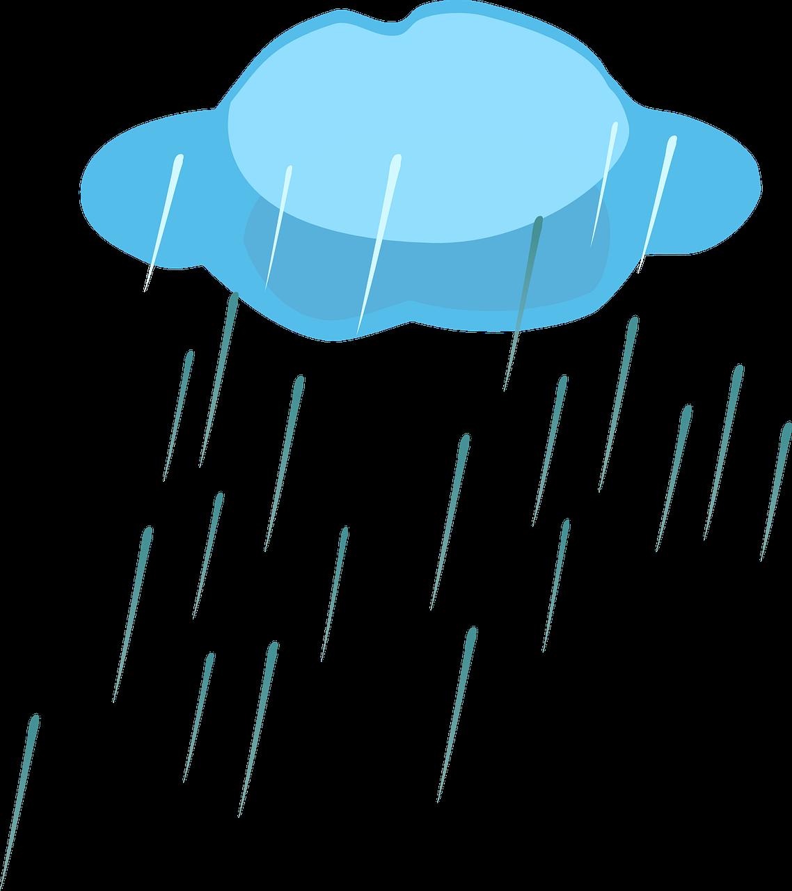 Картинка тучи и дождя