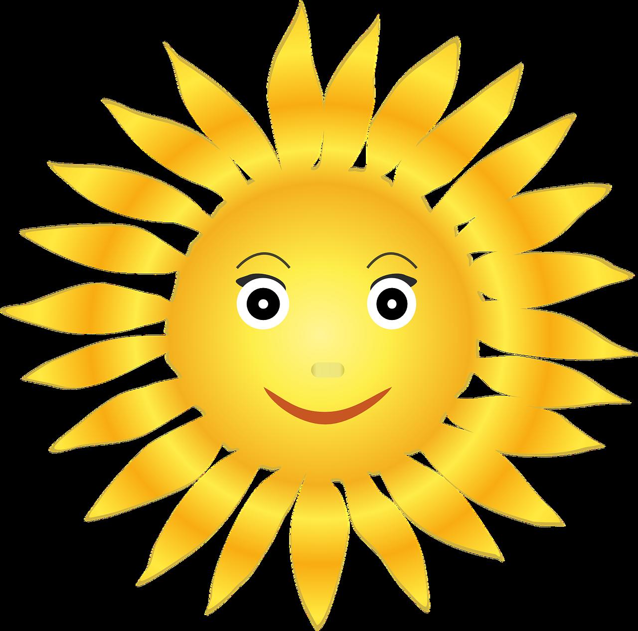 Фото солнца для детей