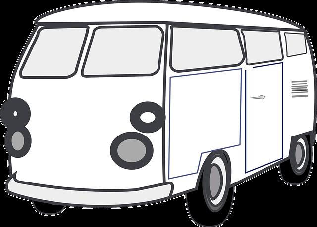Van Clipart Van Car Transpo...