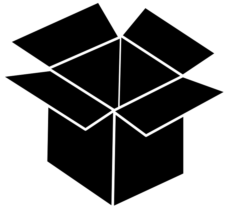 black box container cardboard free vector graphic on pixabay