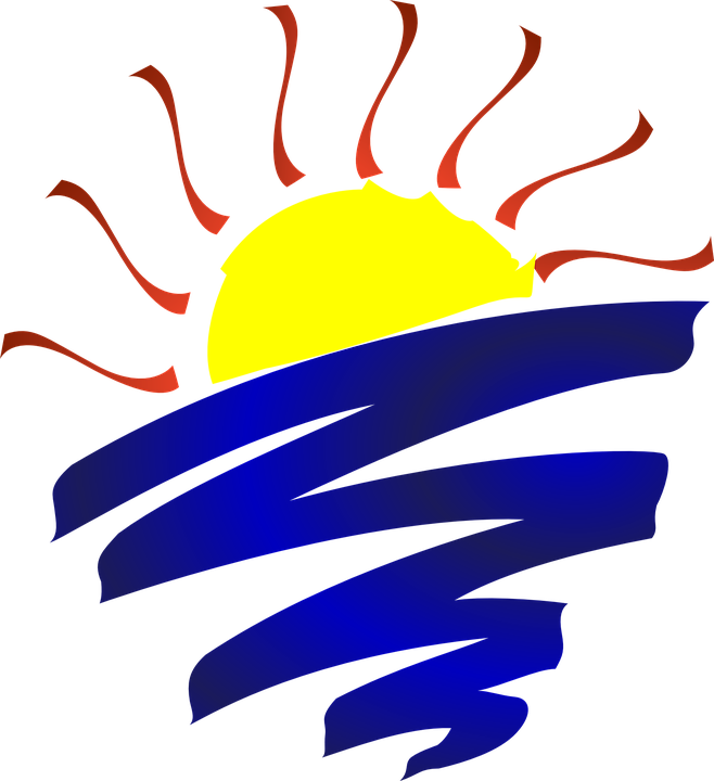 sun rise set free vector graphic on pixabay rh pixabay com free summer lake clipart