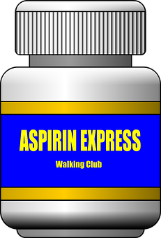 Aspirin Express, Walking Club, Bottle