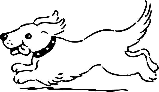 dog running coloring pages - photo#14