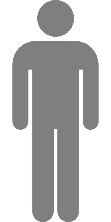 Man Pictogram Toilette Bathroom Restroom Male