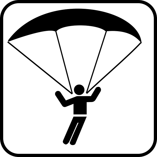 skydiving clip art